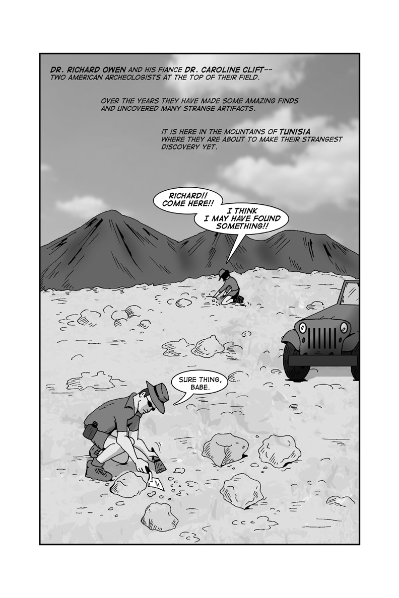 Issue #3 - Page 1